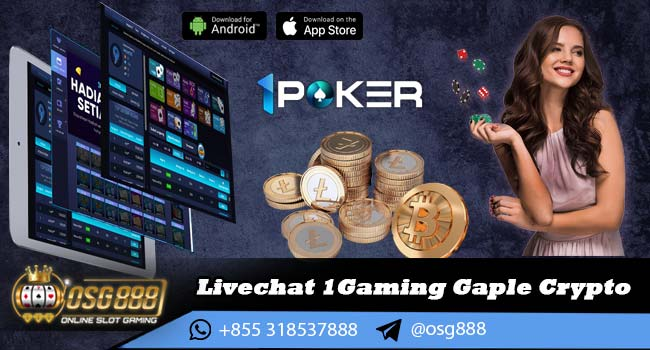 Livechat 1Gaming Gaple Crypto
